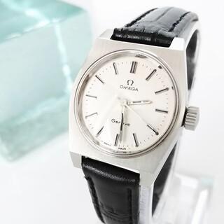 OMEGA - ⭐OH済 綺麗 オメガ 尾錠 3針 新品ベルト レディース 腕時計 着物 美品