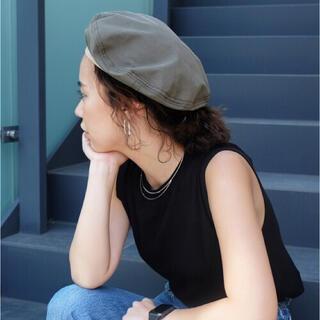 トゥデイフル(TODAYFUL)の【TODAYFUL】 Piping Nylon Beret ベレー帽(ハンチング/ベレー帽)