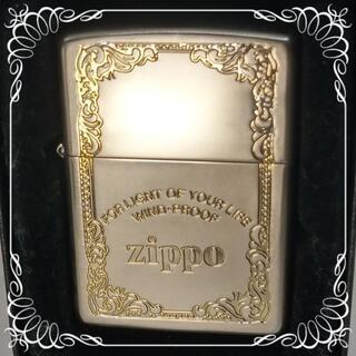 ジッポー(ZIPPO)の№524 ZIPPO WINDO-FLOOP ロゴ文字彫 ジッポー 1997年(タバコグッズ)