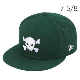 シュプリーム(Supreme)のSupreme Skull New Era Green 7 5/8(キャップ)
