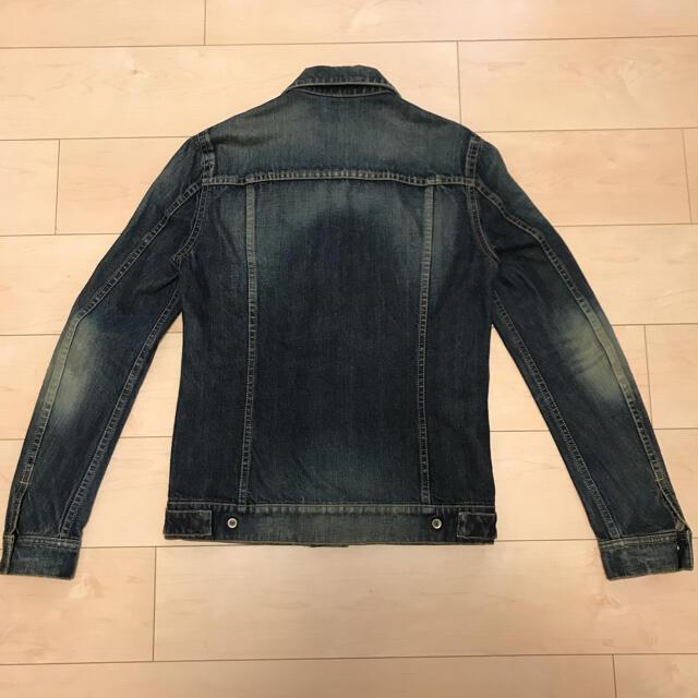 ATTACHIMENT(アタッチメント)のアタッチメント ビンテージ加工 デニムジャケット Gジャン サードタイプ 日本製 メンズのジャケット/アウター(Gジャン/デニムジャケット)の商品写真