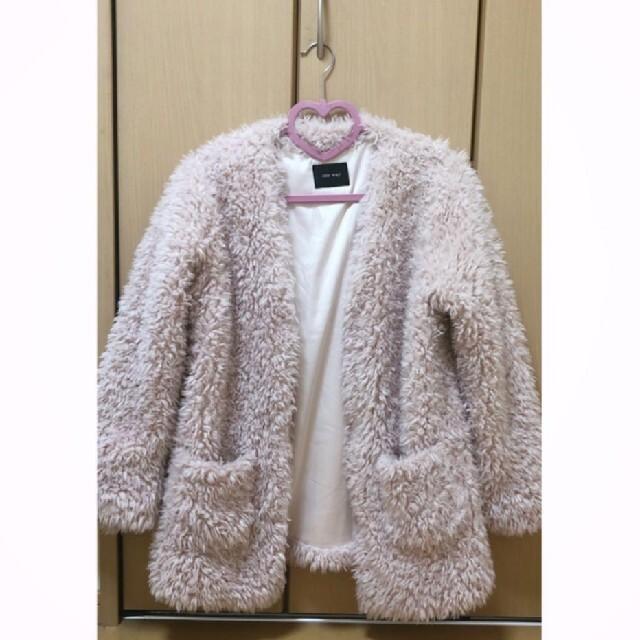 one*way(ワンウェイ)のプードルファーコート レディースのジャケット/アウター(毛皮/ファーコート)の商品写真
