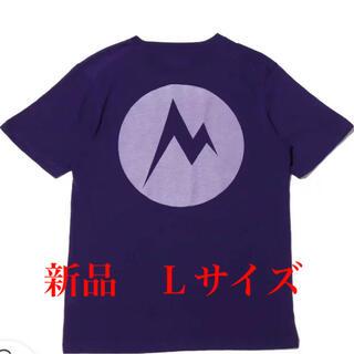 マーモット(MARMOT)のマーモット バックプリントtシャツ 正規品 Lサイズ 新品未使用タグ付 最終値下(Tシャツ/カットソー(半袖/袖なし))