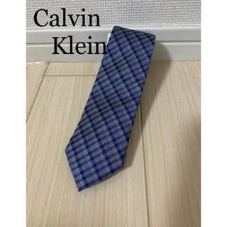 Calvin Klein - Calvin Klein チェック カルバンクライン ck ネクタイ