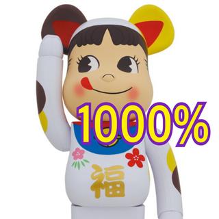 メディコムトイ(MEDICOM TOY)のBE@RBRICK 招き猫 ペコちゃん 福 1000%(その他)
