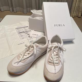 フルラ(Furla)のお洒落なフルラ スニーカー 白xオフホワイト(スニーカー)