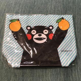 くまモン オリジナルバッグ 水色 非売品 新品 未使用 匿名発送(ノベルティグッズ)