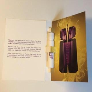 ティエリーミュグレー(Thierry Mugler)のティエリーミュグレー エイリアン オードパルファム 試供品(香水(女性用))