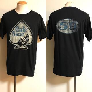 ルイスレザー(Lewis Leathers)の未使用 UK ビンテージ 59CLUB カフェレーサー Tシャツ L xpv (Tシャツ/カットソー(半袖/袖なし))