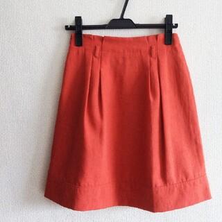 グローブ(grove)の未使用【glove】フレアスカート(ひざ丈スカート)