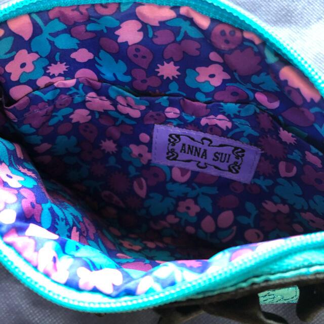 ANNA SUI(アナスイ)の再値下げ↓ ANNA SUI ミラー付き 化粧ポーチ アナスイ レディースのファッション小物(ポーチ)の商品写真
