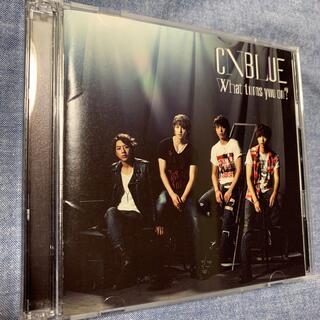 シーエヌブルー(CNBLUE)のWhat turns you on?(初回限定盤A)CNBLUE(ポップス/ロック(邦楽))