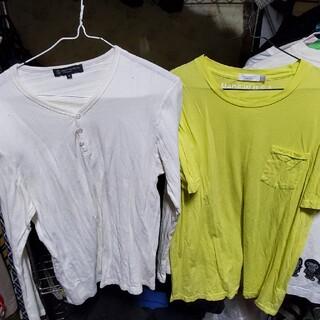 BEAUTY&YOUTHのオリジナルTシャツとロングカットソー二点セット