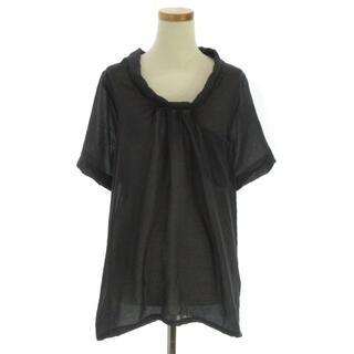 ケービーエフ(KBF)のKBF アーバンリサーチ シャツ ブラウス 半袖  シアー ギャザー ONE(シャツ/ブラウス(半袖/袖なし))