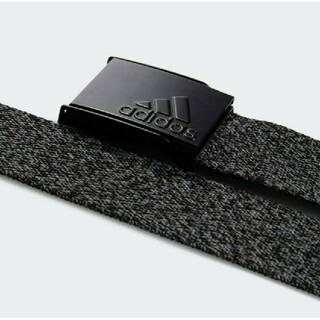 adidas - 【新品】アディダス adidas ゴルフ ヘザーウェビングベルト ブラック