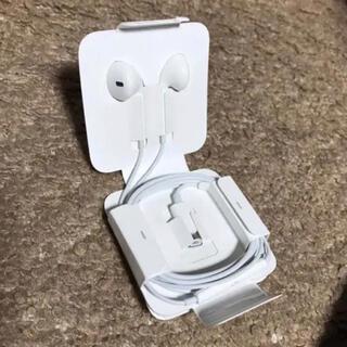 アップル(Apple)のiPhone ライトニング イヤホン 純正(ストラップ/イヤホンジャック)