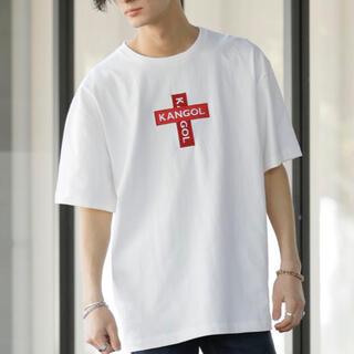 カンゴール(KANGOL)のKANGOL Cross Boxlogo Tee(Tシャツ/カットソー(半袖/袖なし))