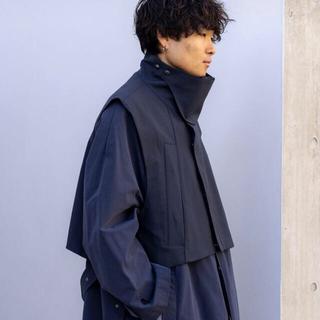 アンユーズド(UNUSED)のRyo Takashima STAND COLLAR ACTIVE VEST(ベスト)