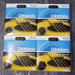 新品 D'Addario ダダリオ アコースティックギター弦 EXP16(弦)