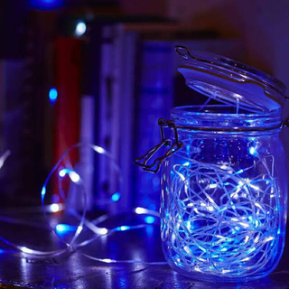ドウシシャ(ドウシシャ)のフェアリーライト50球ホワイトブルーSM-50WB(蛍光灯/電球)