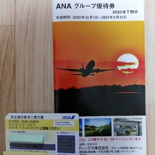 ANA株主優待券とANAグループ優待券  (その他)