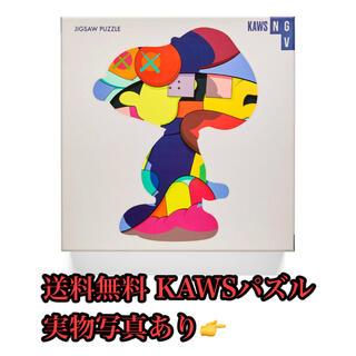 kaws パズル puzzle カウズ supreme シュプリーム インテリア(その他)