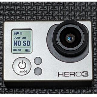 ゴープロ(GoPro)のGoPro HERO3 SILVER EDITION(ビデオカメラ)