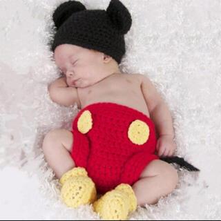 ディズニー(Disney)のミッキー 新生児コスチューム 着ぐるみ(その他)