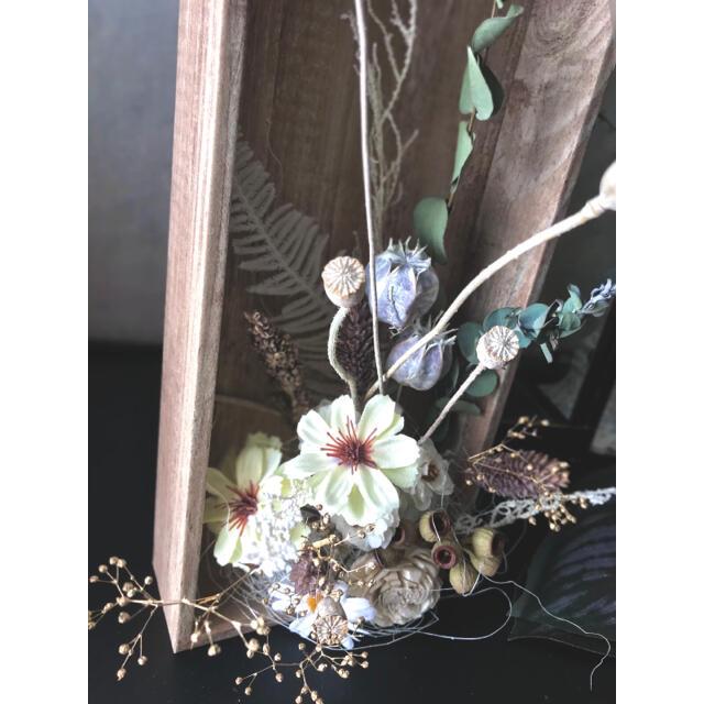 咲きこぼれるSpring flowers/Mサイズミルキーイエロー*母の日に…♡ ハンドメイドのフラワー/ガーデン(ドライフラワー)の商品写真
