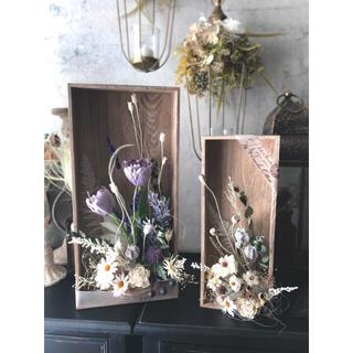 咲きこぼれるSpring flowers/Mサイズミルキーイエロー*母の日に…♡(ドライフラワー)