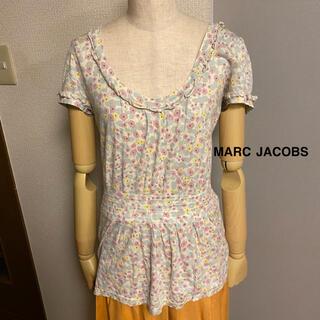 マークジェイコブス(MARC JACOBS)の【MARC JACOBS】カットソー トップス 花柄 フリル(カットソー(半袖/袖なし))