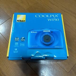 ニコン(Nikon)のNikon COOLPIX W100 BLUE(コンパクトデジタルカメラ)