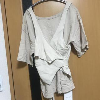 ステュディオス(STUDIOUS)の新品未使用!PUBLIC TOKYO レイヤードカットTEE(Tシャツ(半袖/袖なし))