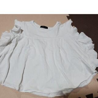 カルディア(CALDia)のみみりん様専用🎶女の子 半袖 120 フリル Caldia カルディア 丸高(Tシャツ/カットソー)