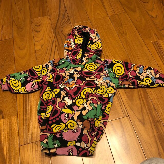 HYSTERIC MINI(ヒステリックミニ)のパーカー キッズ/ベビー/マタニティのベビー服(~85cm)(トレーナー)の商品写真