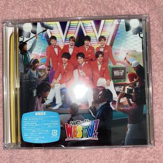 ジャニーズウエスト(ジャニーズWEST)のWESTV 初回 CD(アイドル)