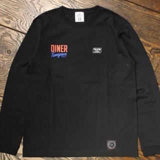 エムアンドエム(M&M)のM&M  × TAMAGAWA DINER  Tシャツ Mサイズ(Tシャツ/カットソー(七分/長袖))