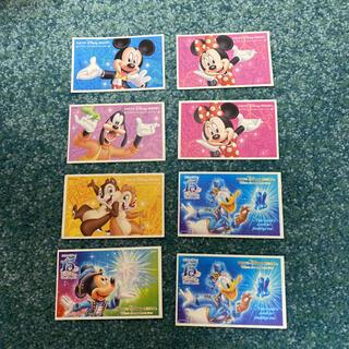 ディズニー(Disney)のディズニーチケット 使用済み(遊園地/テーマパーク)