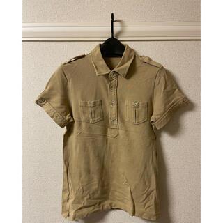 ラルフローレン(Ralph Lauren)のラルフローレン RALPH LAUREN ポロシャツ 半袖 ベージュ L(ポロシャツ)