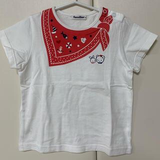 familiar - ファミリア トップス Tシャツ 半袖 マリン 120