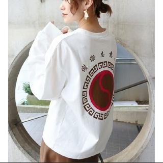 ムルーア(MURUA)のMURUA ロゴT(Tシャツ(長袖/七分))