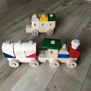 ボーネルンド(BorneLund)の《河合楽器製作所》木のおもちゃ くみきトレイン 電車 (模型/プラモデル)