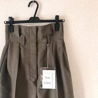 アクネ(ACNE)のAcne Studios Paperbag-waist Trousers(カジュアルパンツ)