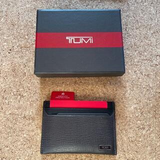 トゥミ(TUMI)のTUMI 名刺入れ MOMACO SLG GUSSETED CARD CACE (名刺入れ/定期入れ)