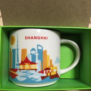 スターバックスコーヒー(Starbucks Coffee)の上海限定 スターバックス   マグカップ(マグカップ)