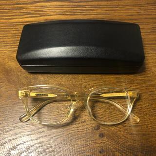 ビームス(BEAMS)の白山眼鏡店×BEAMS ビームス HANK キハク クリア 希少モデル!(サングラス/メガネ)
