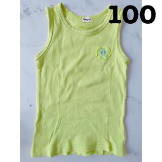 コンビミニ(Combi mini)のコンビミニ ノースリーブ タンクトップ トップス キッズ服(100㎝)(Tシャツ/カットソー)