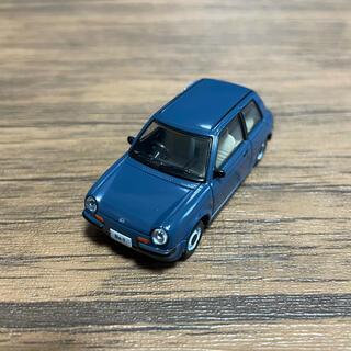 アオシマ(AOSHIMA)の1/64 Nissan Be-1 コレクション ガチャ ブルー(ミニカー)