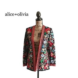 アリスアンドオリビア(Alice+Olivia)のalice+olivia アリス+オリビア ジャケット レディース(テーラードジャケット)