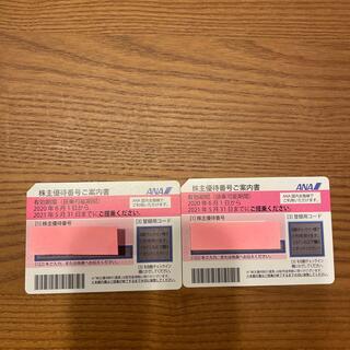 エーエヌエー(ゼンニッポンクウユ)(ANA(全日本空輸))のANA 株主優待券 セット(航空券)